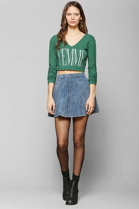 Truly Madly Deeply Femme Cropped Tee