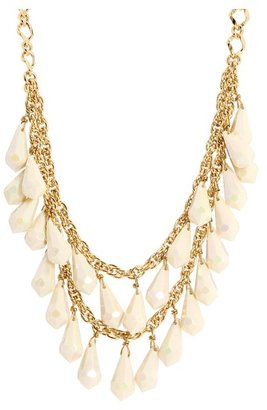 Kate Spade Shimmer Short Necklace (Cream) - Jewelry