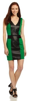 XOXO Juniors Color Block Body Con Dress