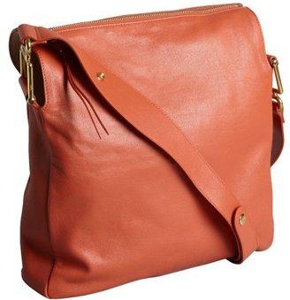 Chloé suntan leather 'Vanessa' zip shoulder bag