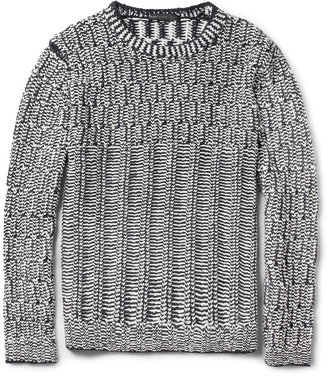 Marc by Marc Jacobs Emmitt Chunky Open-Knit Sweater