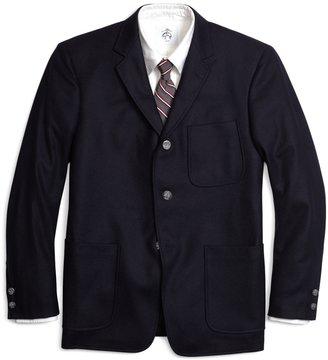 Brooks Brothers Flannel Patch Pocket Jacket