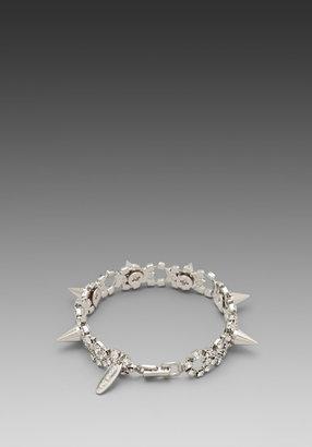 JOOMI LIM Crystal & Spike Bracelet