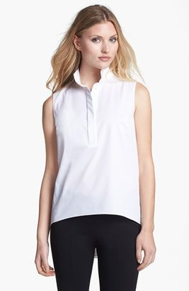 Elie Tahari 'Tiffany' High/Low Blouse