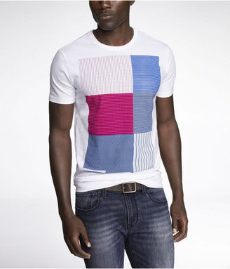 Express Fitted Graphic Tee - Right Angles