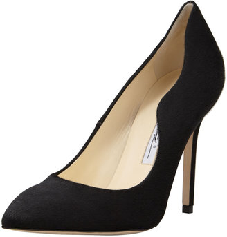 Brian Atwood Besame Calf Hair Wave-Side Pump