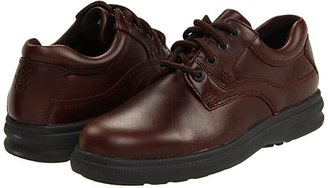 Hush Puppies Glen (Black Leather) Men's Lace up casual Shoes