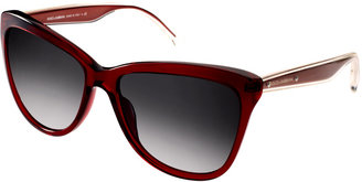 Dolce & Gabbana Dolce And Gabanna Mambo Collection Red Sunglasses