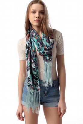 Urban Outfitters Pins and Needles Floral Scarf