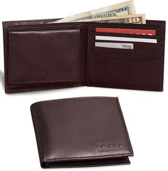 Nautica Soft Nappa Leather Bifold Wallet