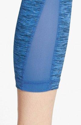 Zella 'Streamline - Space Dye Pop' Capri Leggings