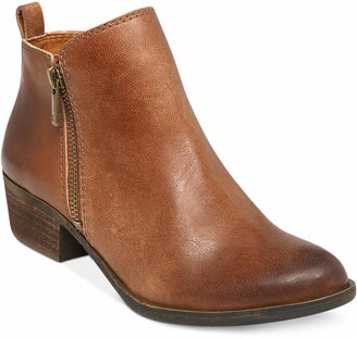 Lucky Brand Women's Basel Booties $129 thestylecure.com