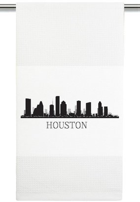 Mariasch Studios Houston Skyline Kitchen Towel