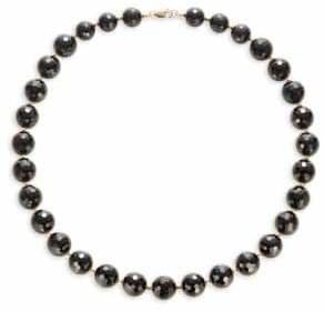 Effy 14K Yellow Gold Onyx Necklace