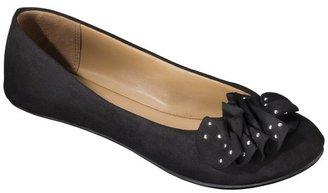 Merona Women's Mae Ballet Flat - Black