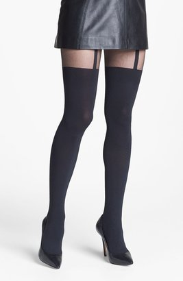 Pretty Polly 'Shape It Up' Shaping Mock Suspender Tights