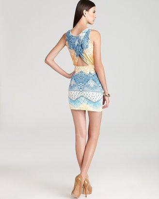 Mara Hoffman Printed Dress - Sleeveless Cutout Mini
