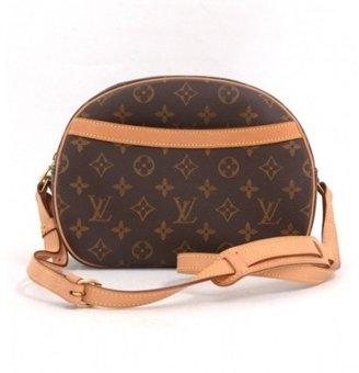 Louis Vuitton excellent (EX Brown Monogram Canvas Blois Shoulder Bag