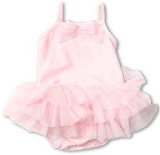 Kate Mack Ballerina Solid Tank Swimsuit (Infant) (Pink) - Apparel