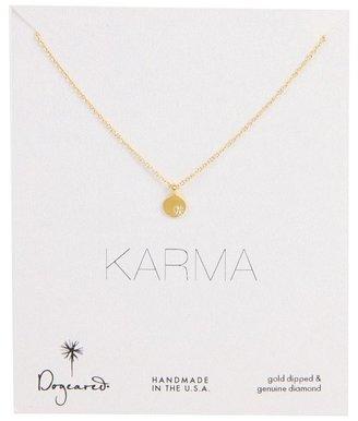 Dogeared Jewels Diamond Karma Necklace (Gold) - Jewelry