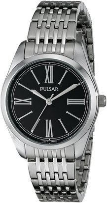 Pulsar Women's PG2011 Analog Display Japanese Quartz Silver Watch