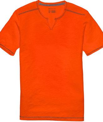 INC International Concepts T Shirt, Core Monte Split Neck Tee