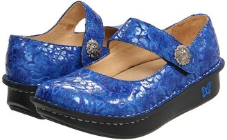 Alegria Paloma (Blue Patent) Women's Maryjane Shoes