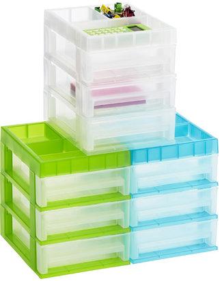 Container Store Mini 3-Drawer Desktop Organizer