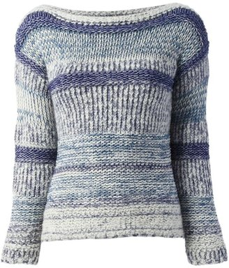 Etoile Isabel Marant 'Pit Shepard' knitted textured sweater