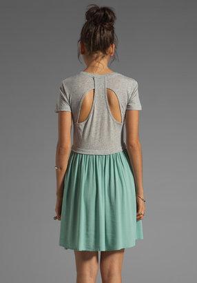 Funktional Path Back Detail Dress
