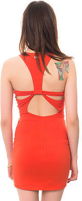 RVCA The Haunted Dress in Coral