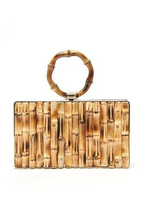 Charlotte Olympia Hula Pandora Clutch Bag