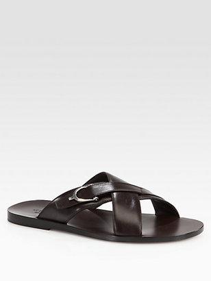 Gucci Karel Leather Sandal