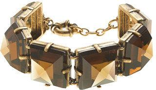 J.Crew Mirrored pyramids bracelet