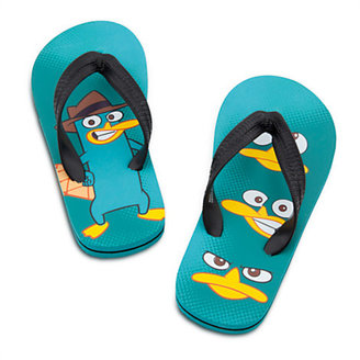 Disney Perry Flip Flops for Boys