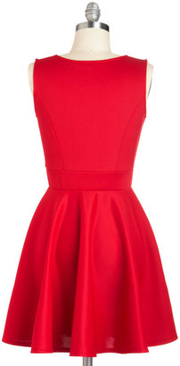 Two Happy Hearts Dress in Red
