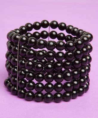 Windsor 5 Row Black Bracelet