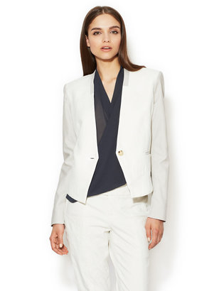 Helmut Lang Quarry Suiting Cotton Blazer