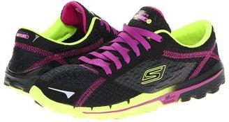 Skechers Performance - GORun 2 - Supreme (Black Lime) - Footwear
