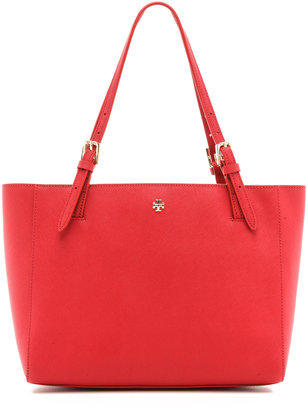 Tory Burch York Small Buckle Tote $245 thestylecure.com