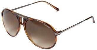Carrera Ca56s Aviator Sunglasses,Blonde Havana,60 mm