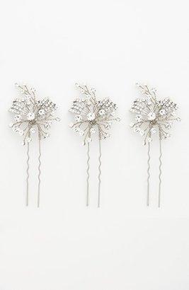 Nina 'Gwenyth' Crystal Hairpins (Three-Pack)