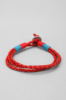 Urban Outfitters Leather Rope Bracelet
