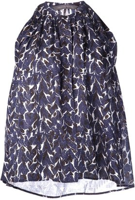 Christophe Lemaire printed trapeze tank