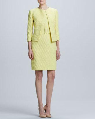Albert Nipon Sleeveless Dress & Jacket