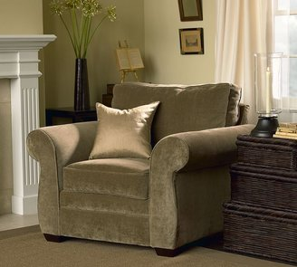 Pottery Barn Pearce Armchair - everydaysuede &