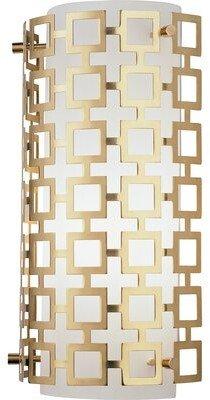 Jonathan Adler Parker 1-Light Wall Sconce Finish: Natural Brass