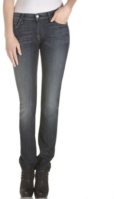 7 For All Mankind Roxanne Skinny Dark Malibu Jeans