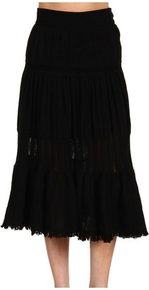 Scully Cantina Skirt (Black) - Apparel