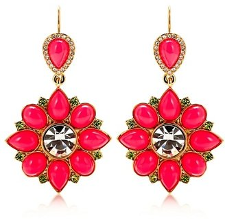 Juicy Couture Cabachon Drop Earrings